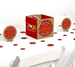 Big Dot of Happiness Chinese New Year - 2020 Year of the Rat Party Centerpiece and Table Decoration Kit