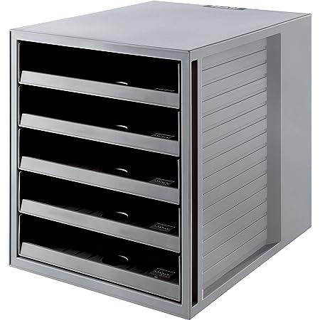 HAN 14018-18 Trieur Karma 5 compartiments pour C4 275 x 320 x 330 mm (Gris) (Import Royaume Uni)