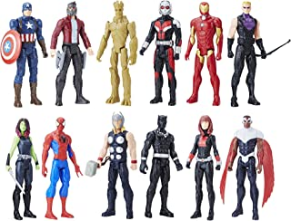 Avengers Titan Hero Series 12 Pack, Action Figures, Ages 4 and up (Amazon Exclusive)