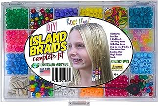 Hair Beading Kit Island Braid Hair Braiding Kit Complete Hair Styling Instructions