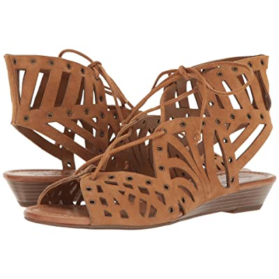Jessica Simpson Lalaine (Honey Brown Luxe Kid Suede) Women