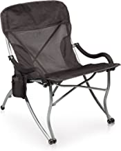 PICNIC TIME ONIVA - a Brand PT-XL Over-Sized 400-Lb. Capacity Outdoor Folding Camp Chair