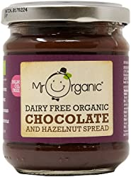 Mr Organic Free From Chocolate Spread