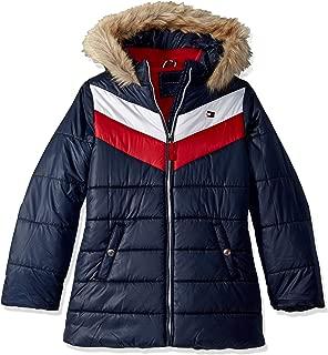 Tommy Hilfiger Girls' Long Length Puffer Jacket