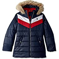 Girls' Long Length Puffer Jacket