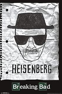 Trends International Breaking Bad - Heisenberg Wall Poster, 22.375