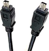 Micro Connectors, Inc. 15 feet Firewire IEEE 1394 4 Pin to 4 Pin Cable (E07-222)