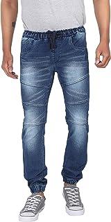 ZSOLT Mens slim fit stretchable jogger jeans