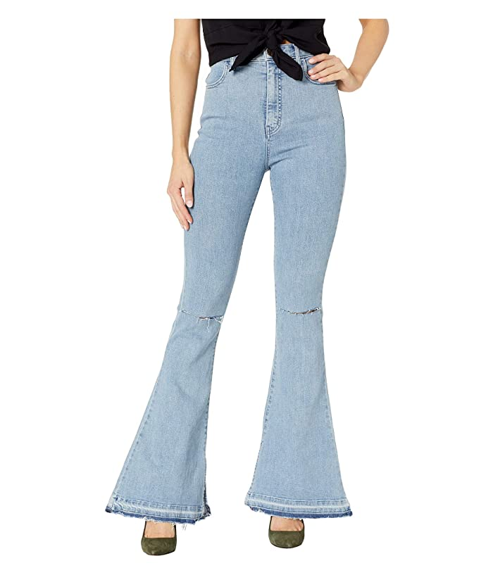 Show Me Your Mumu Austin High-Waisted Flare Pants (Dive) Women