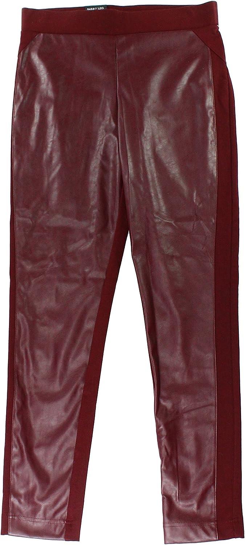 INC Port Women's 12x29 FauxLeather Skinny Leggings Pants