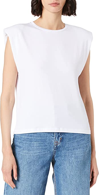 Object Objstephanie Jeanette S/S Top Noos T-Shirt Donna