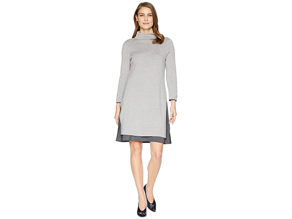 NIC+ZOE Ready To Go Dress (Frost) Women