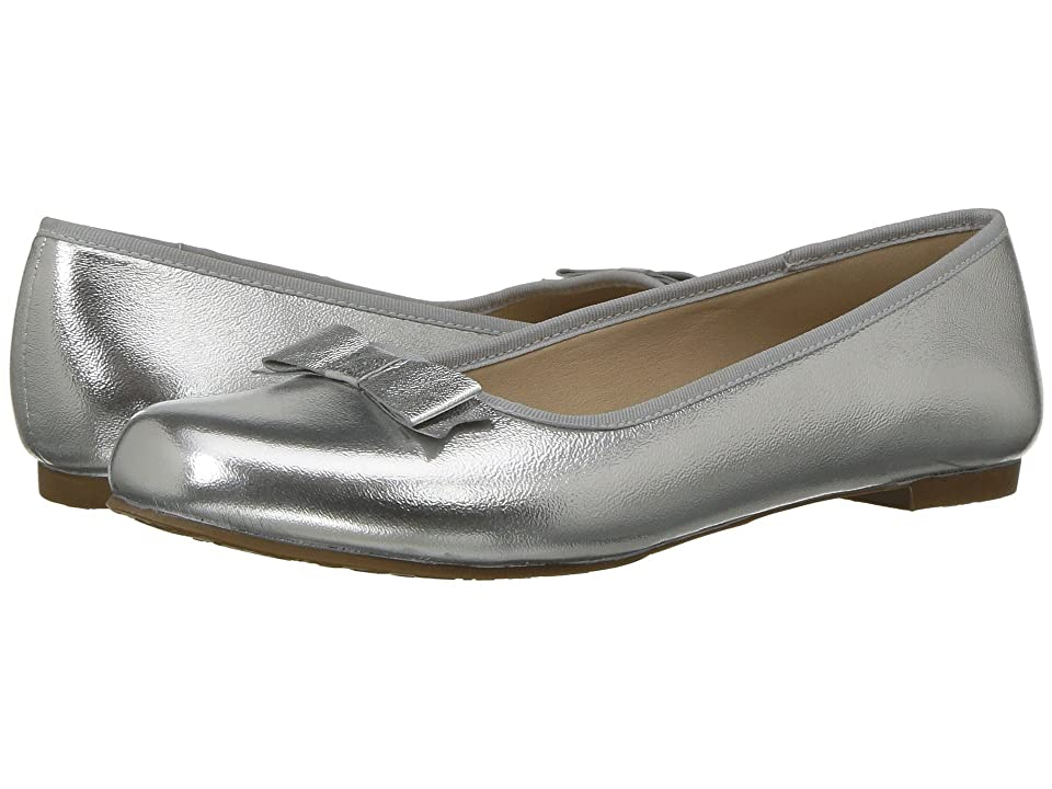 Elephantito Camille Flats (Toddler/Little Kid/Big Kid) (Silver) Girls Shoes