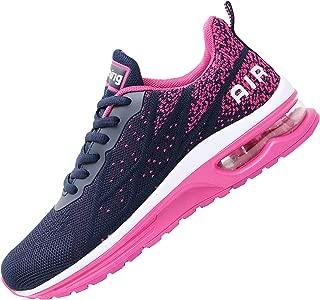 Impdoo Women's Air Athletic Running Sneaker Cute Fitness Sport Gym Jogging Tennis Shoes(US5.5-10 B(M)