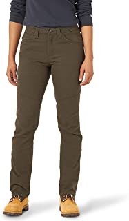 Wrangler Riggs Workwear Women's Tough Layers Utility Pant, Loden, 18W x 30L