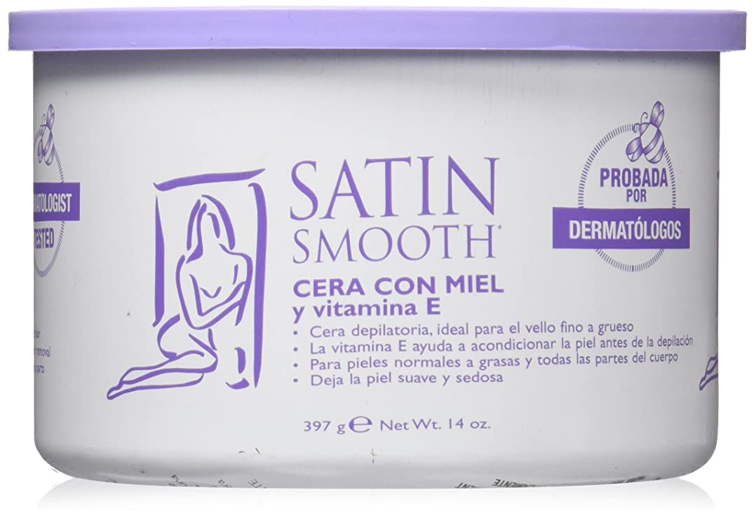 現在マニア可能にするワックス脱毛ビタミンE配合蜂蜜 397g (並行輸入品)