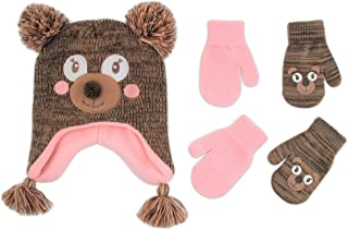 bear hat and gloves