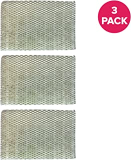 Crucial Air Humidifier Filter Replacement HWF100 Parts Compatible With Holmes Part # HWF-100 - Fits HM7204, HM7305, HM7305RC, HM7306, HM6000, HM6000RC, HM6600, HM6005HD, HM729, HM4600, HM630 (3 Pack)