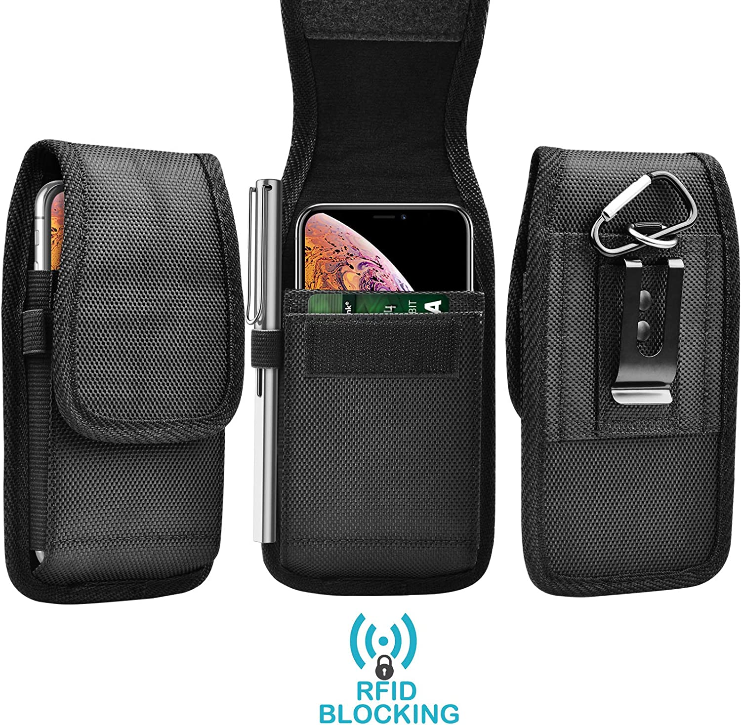 Discount mail order Tekcoo RFID Blocking Cell Phone Holster for 13 iPhone Max Pro Quality inspection