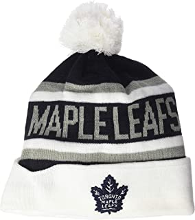 NHL Men's  OTS Jasper Cuff Knit Cap with Pom