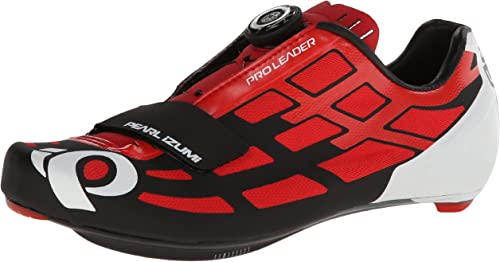Pearl Izumi - Ride Men's P.R.O Leader II Cycling chaussures,Fiery rouge noir,39.5 EU 6.5 D US