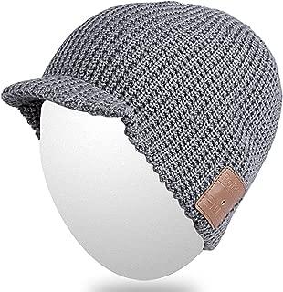 Bluetooth Beanie Hat,Qshell Washable Winter Men Women Cap...