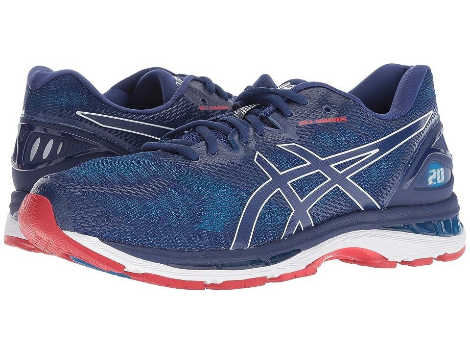 ASICS GEL Nimbus(r) 20 (Blue PrintRace Blue) Men's Running
