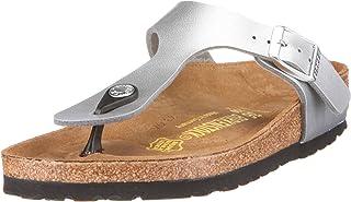 Birkenstock Gizeh, Womens-Adults' Sandals, Tango Red Lack, 40 EU
