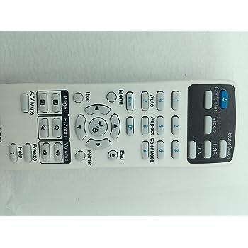 Mando a Distancia para Epson EB-940 EB-950W EB-955W Aimple 1599176 EB-945 EB-965 EB-97 EB-98 EB-S03 EB-S120 EB-S17 EB-S18 EB-S200 EB-S21 EB-W03 EB-W120 EB-W18 EB-W22 EB-X03 EB-X120 EB-X18