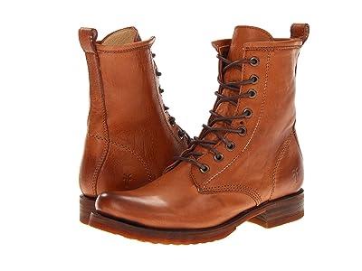 Frye Veronica Combat (Whiskey Soft Vintage Leather) Women
