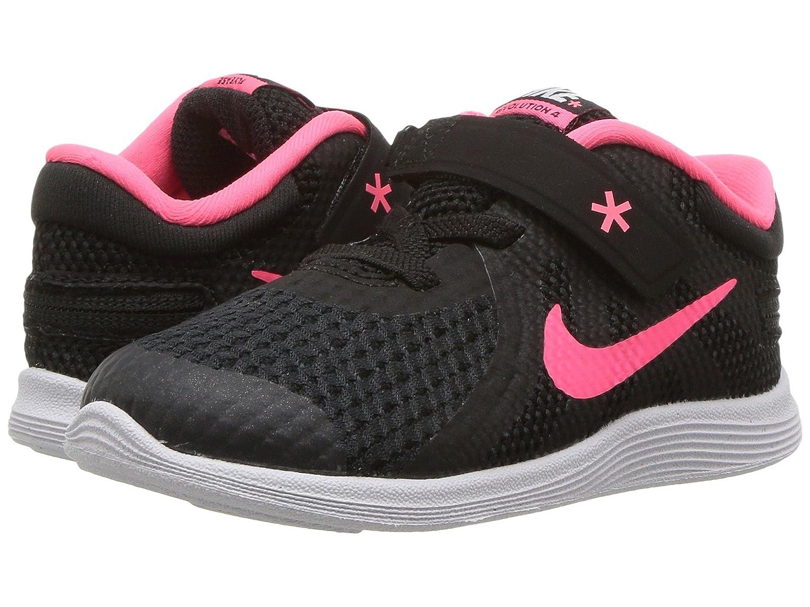 Nike Kids Revolution 4 FlyEase (Infant/Toddler)Atmospheric grades have affordable shoes