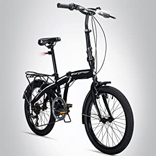 Ridgeyard 20Zoll Klapprad Cityrad Urban Camping Jungen Kinderfahrrad Fahrrad Rad