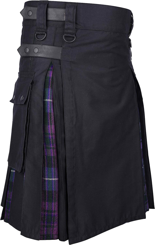 贈答品 Plus Size Scottish Utility Tartan Colors モデル着用 注目アイテム Cotton Kilts