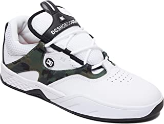DC Scarpe Kalis S Bianco Mimetico Skate Scarpe