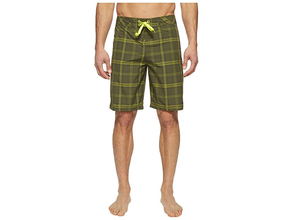 Prana El Porto Boardshort (Cargo Green) Men