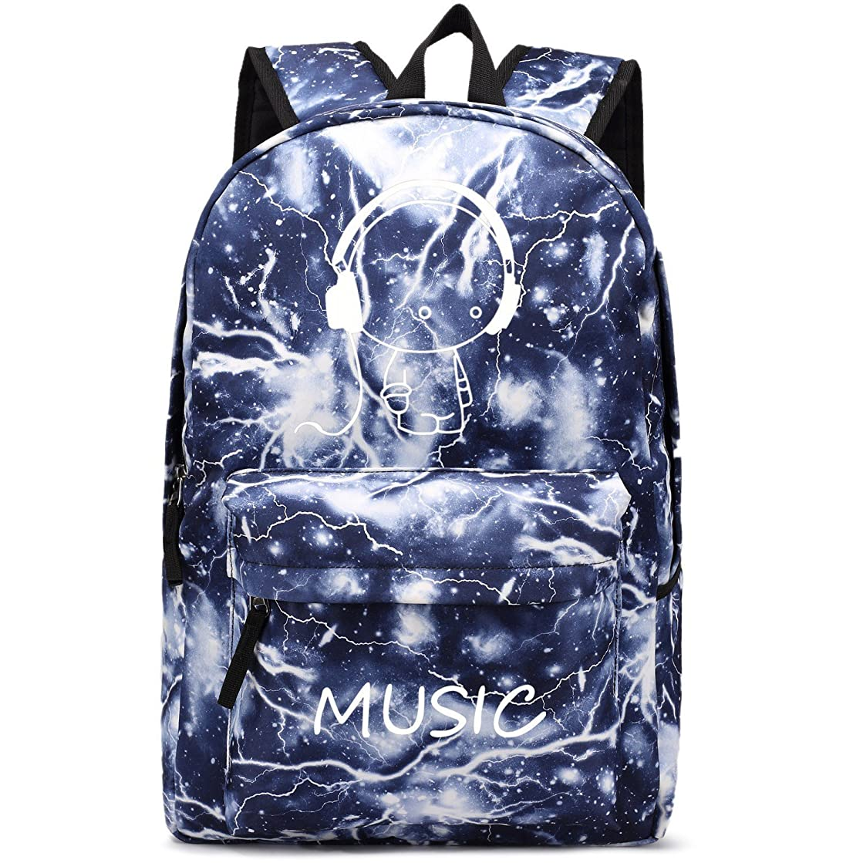 Backpack for School Boys Kids Galaxy Backpack Girls 15.6