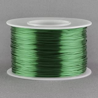 Magnet Wire 24 Gauge AWG Enameled Copper 396 Feet Tattoo Coil Winding 155C Green