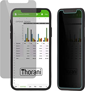 Thorani Privacy Filter for Apple iPhone X/XS - Anti-Spy, Shatterproof & Scratch Proof Film