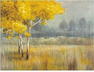 Trademark Fine Art Yellow Landscape by Danhui NAI, 35x47,