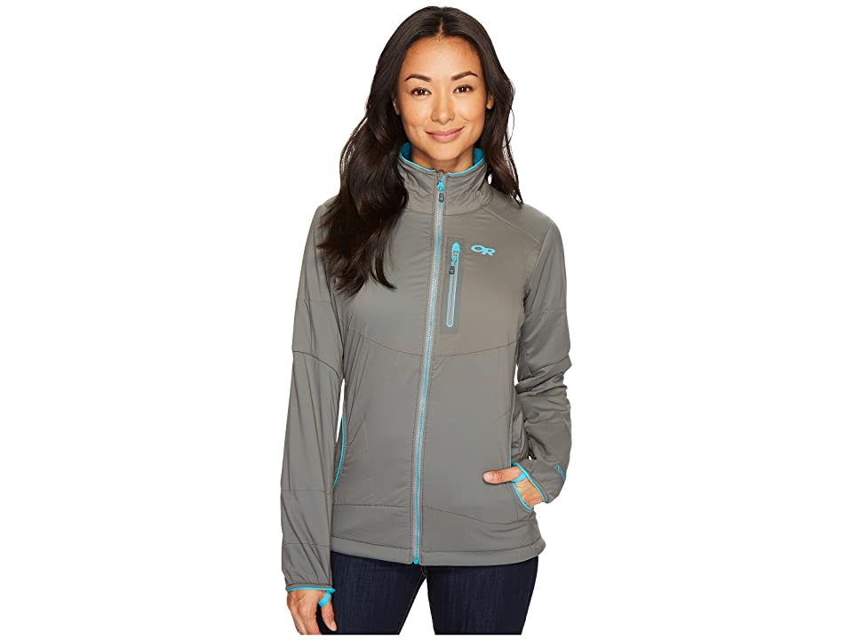 Outdoor Research Ascendant Jacket (Pewter/Typhoon) Women