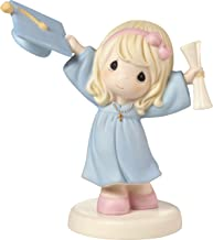 Precious Moments With God All Things Are Possible Graduation Girl with Cap & Diploma Bisque Porcelain Home Decor Collectible Figurine 173013