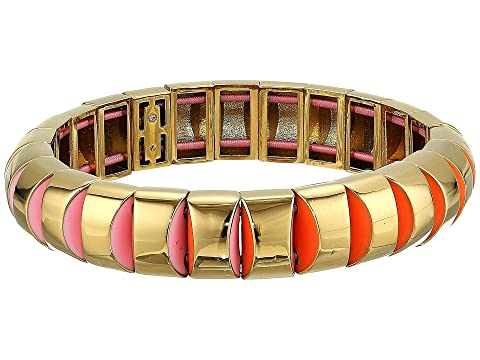 Kate Spade New York Sliced Scallops Small Metal Stretch Bracelet