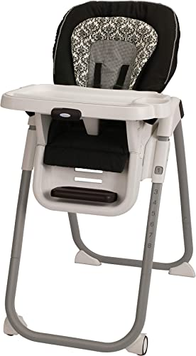 Graco TableFit High Chair, Rittenhouse Black/White
