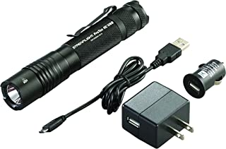 Streamlight 88054 ProTac HL USB 1000 Lumen Professional Tactical Flashlight with High/Low/Strobe with USB Charger - 1000 Lumens