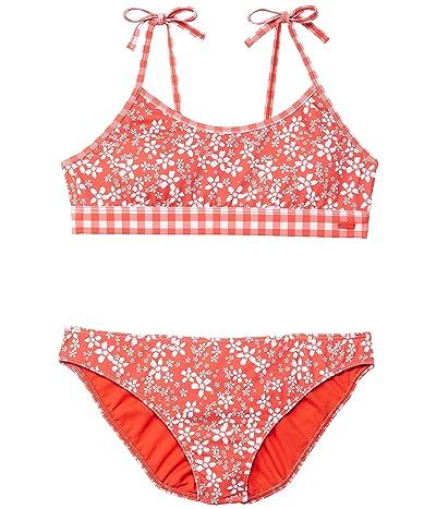 Roxy Kids Friendly Flower Bralette Set Swimsuit (Big Kids)