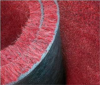 Felpudo de coco rojo burdeos a medida, grosor 17mm. Felpudo liso. Múltiplos de 10cm por 1m de altura. Por ejemplo, para un tamaño de 100x 50cm introducir 5en la cantidad. Para un tamaño de 100x 70cm introducir 7en la cantidad. Para un tamaño de 100x 230cm introducir 23en la cantidad. -
