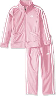 adidas Baby Girls' Tricot Pant and Jacket Active Clothing Set