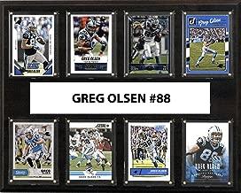 NFL Carolina Panthers Men's Greg Olsen Player Plaque, Brown