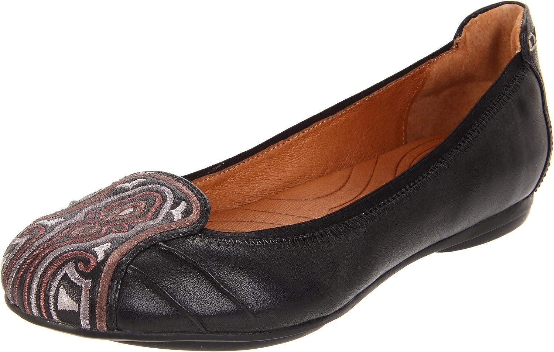 Clarks Women's Plush Velvet Flat