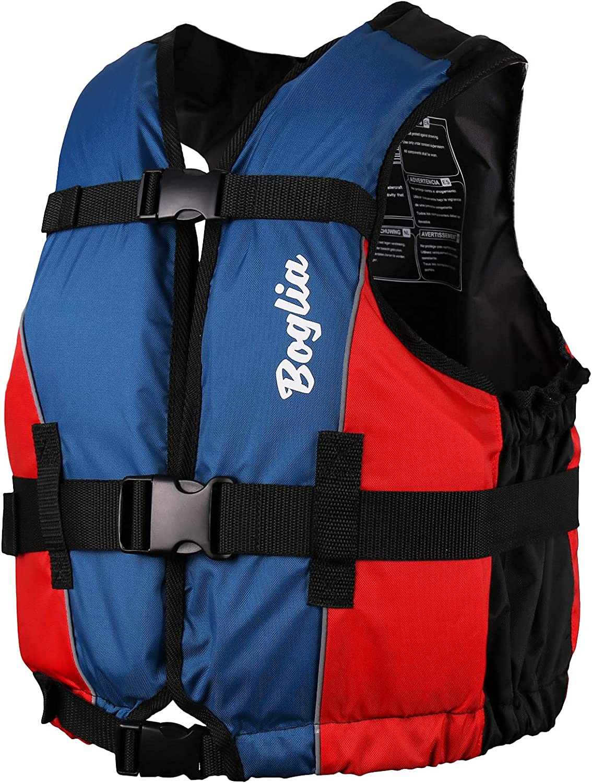 Boglia Swim Vest, Swim Jacket for Adult,PVC Floation Swimsuit Sw